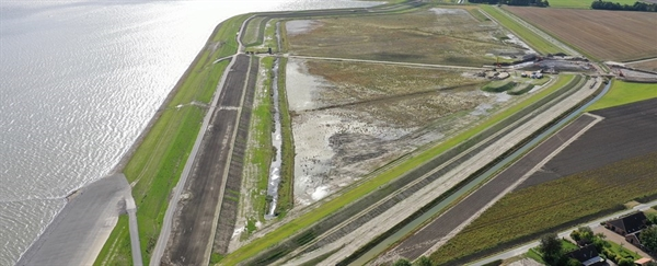 Twin Dyke / courtesy of Noorderzijlvest Water Authority